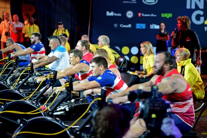 Indoor rowing competition at 2017 Invictus Games